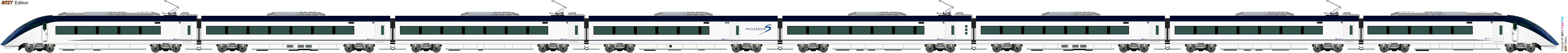鐵路車輛 13001