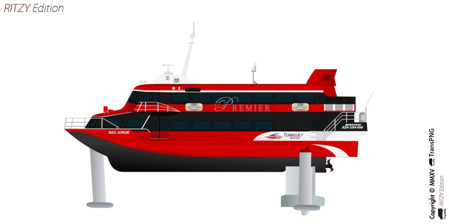 [14001] Shun Tak-China Travel Ship 14001