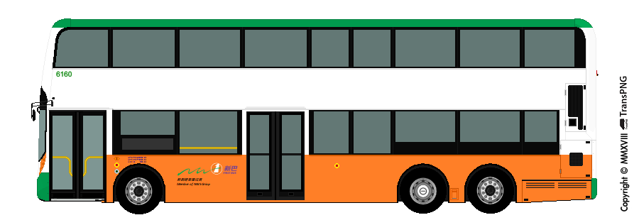 TransPNG.net | 分享世界各地多種交通工具的優秀繪圖 - 巴士 455