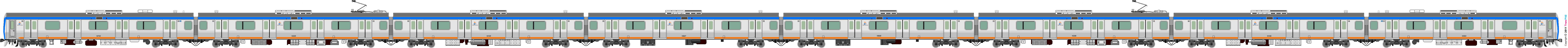 鐵路列車 5594